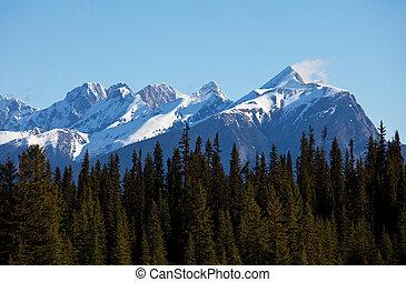 canadense, montanhas