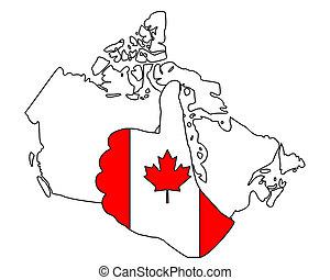 Canadia hand signal