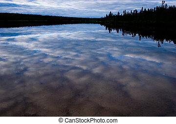 canadian, 湖, 北方