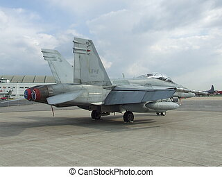 Canadian F16 jetfighter - This is a picture of a canadian...