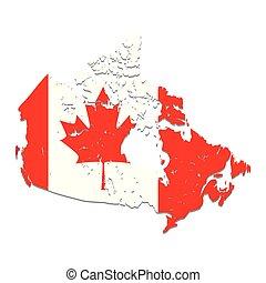 canadian flag emblem icon