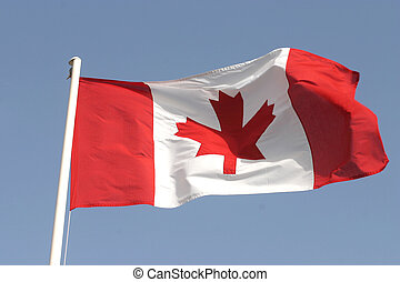 Canadian flag - The canadian flag