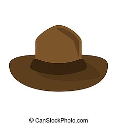 canadian hat mounted policeman design vector illustration eps10