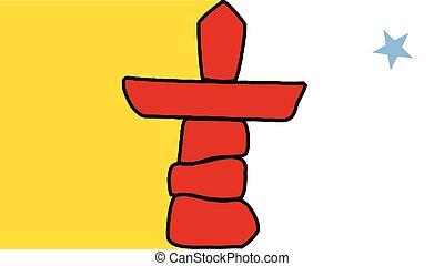 Canadian Inuit Flag