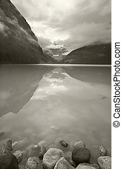 Canadian landscape in Lake Louise. Alberta. Canada