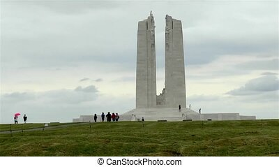 Canadian National Vimy Memorial, World War I Memorial in France.
