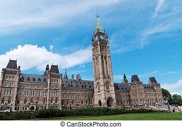 Canadian Parliament Building at Ottawa