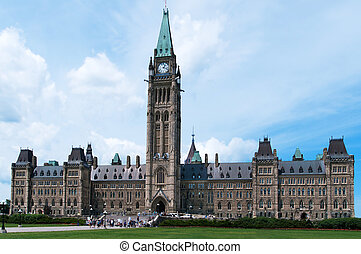 Canadian Parliament Building in Ottawa,Ontario, Canada