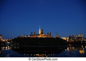 Canadian Parliament - Ottawa capital hill
