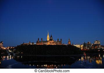 Canadian Parliament - Ottawa capital hill