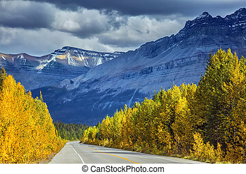 Canadian Rockies, Banff National Park in the autumn