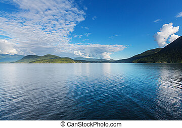 Canadian seascape - Beautiful seascape along Pacific coast...