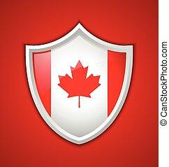 Canadian shield icon