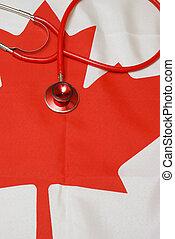 canadiense, atención sanitaria, sistema