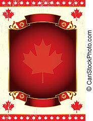 canadiense, día