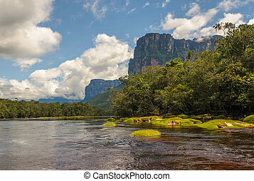 canaima の国立公園, ベネズエラ