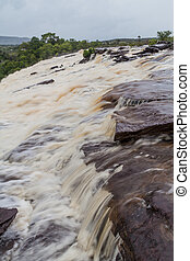 Canaima Lagoon waterfalls