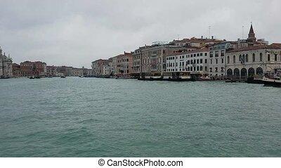 canal, grandiose, italie, repères, venise