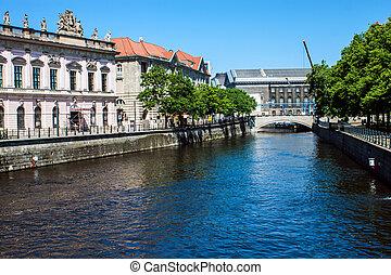 Canal in Berlin, Germany