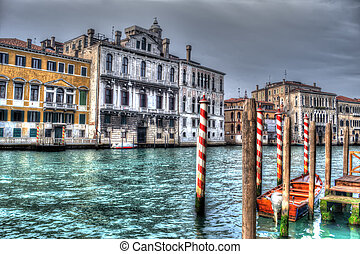 canal in hdr
