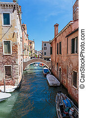 Canal in Venice Italy