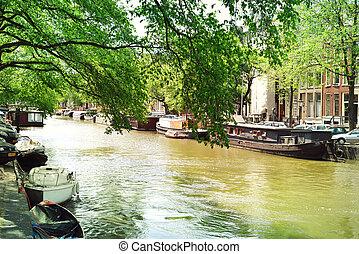 water street in Amsterdam