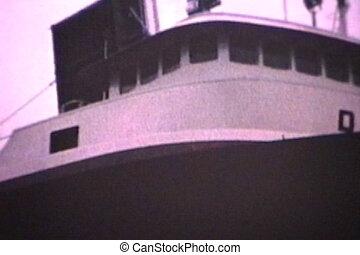 canal, passes, bateau, (1964), par
