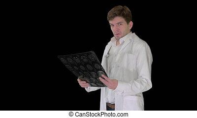 canal, rayon x, désordre, mâle, appareil photo, docteur, ...