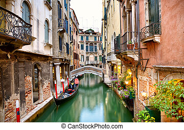 Canal street in Venice