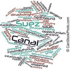 canal, suez