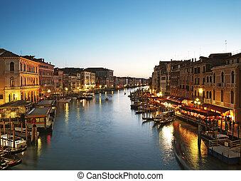 canal, -, venecia italia, magnífico