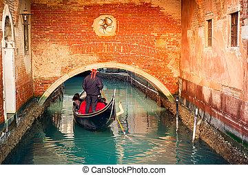 canal, venise
