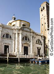 canal, venise, italie, grandiose