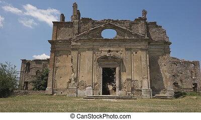Monterano - Canale Monterano, San Bonaventura abandoned...