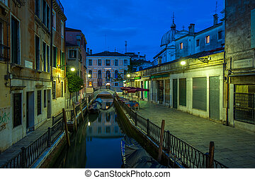 canales, italia, venecia