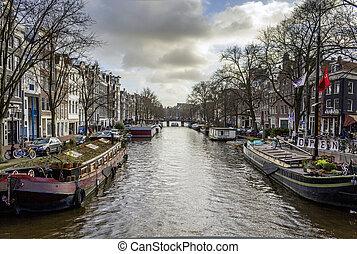 canales, unesco, herencia, vista, uno, (pri, mundo, famoso, ...