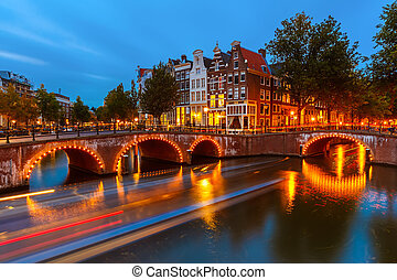 canals, ind, amsterdam