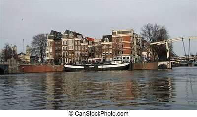 Canals of Amsterdam - A boat trip on the canals of...