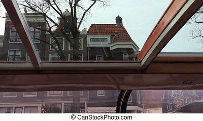 Canals of Amsterdam - A boat trip on the canals of Amsterdam