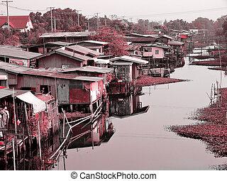 canalside, barriobajo