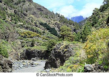 Canary Island La Palma also La Isla Bonita called
