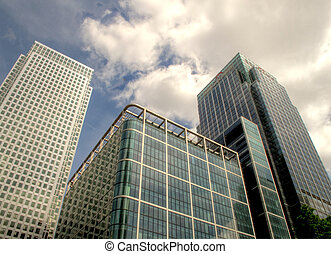 Canary Warf - Some tall buildings in the financial district...