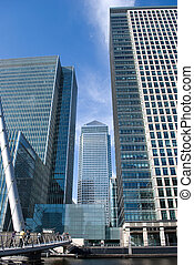 canary wharf - Canary Wharf famous skyscrapers of London's ...