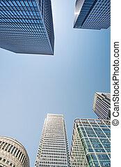 Canary Wharf, London.
