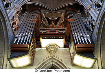 canaux transmission, orgue