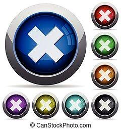 Cancel button set