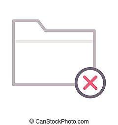 cancel folder