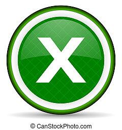 cancel green icon