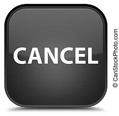 Cancel special black square button