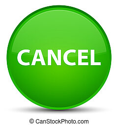 Cancel special green round button